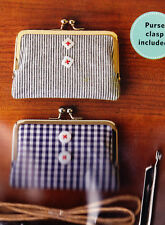 Vintage Clasp Wallet - pattern and clasp - Zakka Workshop