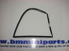Bmw E60 arrière gauche porte fixe cadre de fenêtre noir 51357033645