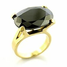 Cubic Zirconia Statement Simulated Oval Costume Rings