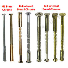 M3 M4 Connecting Screws & Sleeve Square Cup Bolts For Handles Internal External