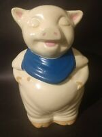 Vintage Shawnee Pottery Smiley Pig Cookie Jar
