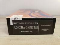 MONTBLANC Writers Limited Edition Agatha Christie Ballpoint Pen, FACTORY SEAL!