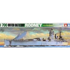 1/700 Tamiya 77502 HMS Rodney British Royal Navy Battleship