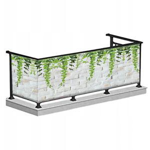 Balkonabdeckung Balkon Balkonbespannung Sichtschutz Terrasse