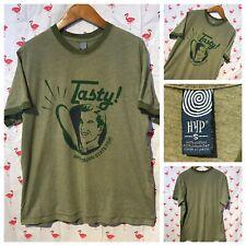 Wisconsin State Fair S Corndog Green Ringer T-shirt A1522