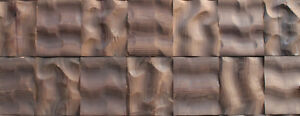 3D Wall Decor Wood Wall Panels, Reclaimed, Decorative Wall Panels, 3D Wood Tiles