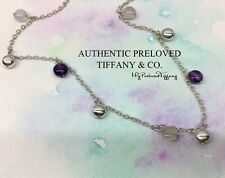 Authentic Tiffany & Co Amethyst Chalcedony Multi Gemstone Fascination Necklace