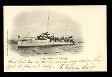 Navy France Shipping HALLEBARDE Type Framee 1902 u/b PPC