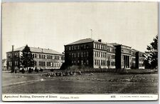 Agricultural Building, University of Illinois Urbana Vintage Postcard L09