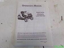 MTD TRANSMATIC LAWN TRACRTOR MODEL SERIES 660 THRU 679 OPERATORS MANUAL - USED