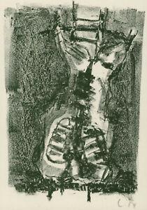 """Lammert, Mark (1960 Berlin, lebt in Berlin)  """"Torso"""" – P.F. 1985  Lithografie"""