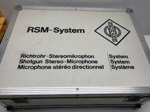 Neumann RSM 191 Stereo Shotgun Microphone Kit #1