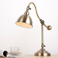 Adjustable Table Lamp Study Bedside Desk Top Table Lighting Dimmable Table Light