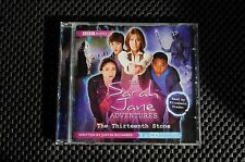 DR WHO THE SARAH JANE ADVENTURES THE 13TH STONE - AUDIO CD BY ELIZABETH SLADEN