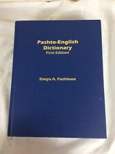 Pashto English Dictionary, Zeeya A. Pashtoon