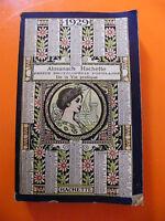 Almanach Hachette 1929 Petite encyclopédie de la vie pratique