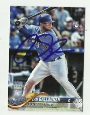 Kansas City Royals CAM GALLAGHER  Signed 2018 Topps Series 1 Card #271