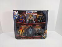Mattel Superman Batman Public Enemies DC Figure 6 Pack Grodd Luthor Force - NEW