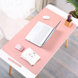 Top Quality Large Leather Office Computer Desk Mat Table Game Keyboard Mouse Pad