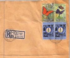 MS2546* 1975 MALAYSIA *Jalan Semangat* Registered Note $5 BUTTERFLY High Value