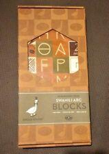 Uncle Goose ABC 28 Block Set - Swahili