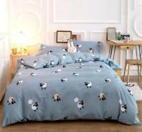 3D Cartoon Sheep ZHUA3227 Bed Pillowcases Quilt Duvet Cover Set Queen King Zoe