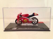 Aprilia RSW125 Mirko Giansanti  2004 1/24 Scale IXO/Altaya New In Case