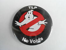 VINTAGE NOS  PINBACK #40- 012 - GHOSTBUSTERS MOVIE - TLP NO VOIDS