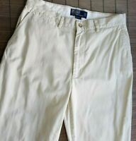 POLO BY RALPH LAUREN MENS CHINO GOLF TROUSERS W30 L32 LIGHT BEIGE  014