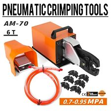 AM-70 Pneumatic Crimper Air Powered Wire Terminal Crimping Machine