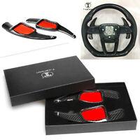 Steering Wheel Shift Gear Paddle For Audi A3/4/5 S3/4 Q2/5/7 TT DSG Carbon Fiber