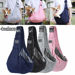 Pet Carrier Tote Cat Puppy Small Dog Travel Handbag Shoulder Bag with Buckle US