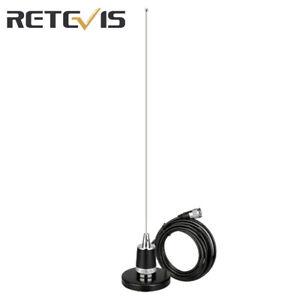 VHF UHF NMO Car Antenna +Magnetic Mount Antenna Base RG58 Coax Cable 150W SL16-J