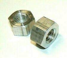 """5/8""""-11 Aluminum Heavy Hex Nuts - Lot Of 10 Pcs."""
