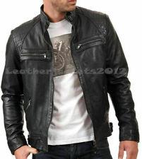 Custom Made Leather jacket bespoke tailored size