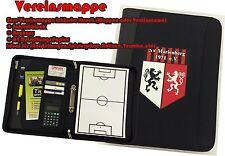 Trainermappe Ringbuchmappe Fussball Trainer Taktikmappe  Trainerbedarf Verein