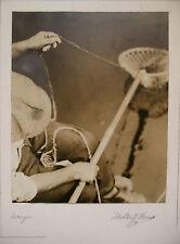 """Photographie Tirage Argentique Milton J.WASS  """"Péche""""  vers 1931   PH16"""