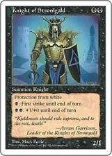KNIGHT OF STROMGALD Fifth Edition MTG Black Creature — Human Knight Unc