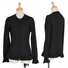 Jean-Paul GAULTIER FEMME Zip-up knit Cardigan Size 40(K-36902)