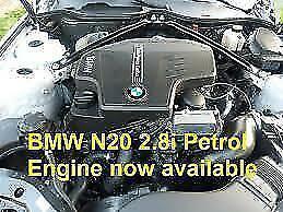 BMW Engine 2.8i Petrol N20B20A (Rebuilt) Pn 11002288222