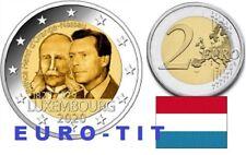 2 €  LUXEMBOURG  1  X  PIECE   NEUVE      PRINCE  HENRI    2020      disponible