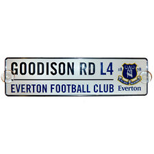 Everton FC Official Football Gift 3D Window Street Sign