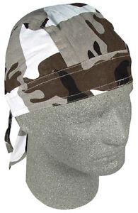New ZANHeadgear®  Urban Camouflage 100% Cotton FLYDANNA® Bandanna Doo Rag