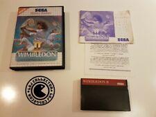 Wimbledon 2 - Sega - master system - PAL