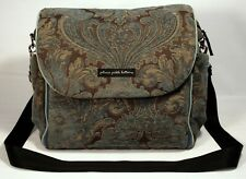 PETUNIA PICKLE BOTTOM  |  Tapestry Brocade Backpack Diaper Bag  |  BABY CHIC