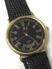 Citizen Noblia Quartz 4710-470231 Vintage Roman Numerals 4710A Gold Plated
