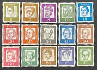 West Germany. Definitive Famous Germans. SG1261/76. (NO 90pf)1961. MNH. (R53)