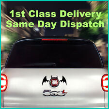 Devil Bat Wing Car Badge Sticker Decal VW GOLF POLO LUPO MAZDA TOYOTA BMW Black