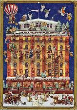 Ein Haus im Weihnachtstraum Nostalgischer Adventskalender Glimmer viktorianisch