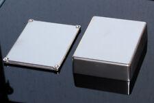 Aluminium Gehäuse 1590BB Chrome pulverbeschichtet Die Cast Enclosure Alu chrom